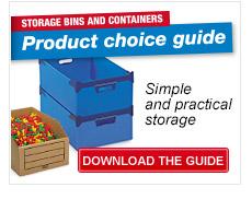 MEA-banner storage bins