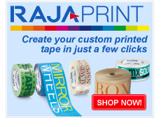 Rajaprint, customise your tape for free