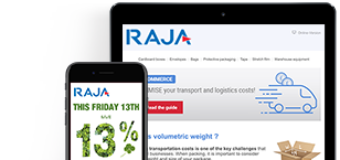 Subscribe to the RAJA packaging newsletters