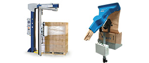 Packaging and closing machines