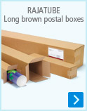 Long brown postal boxes