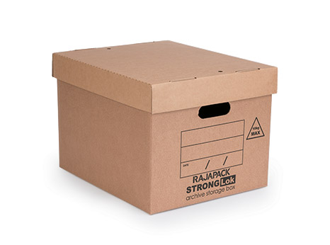 StrongLok archive storage boxes