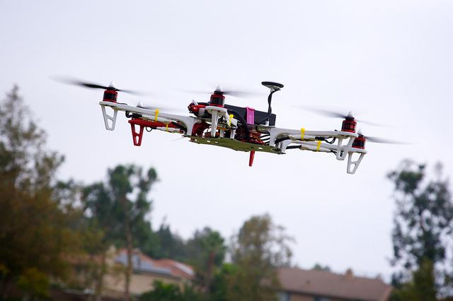 Drones in packaging