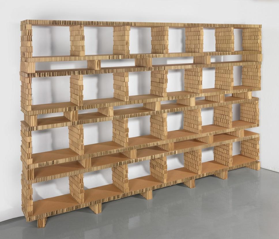 Furniture made of cardboard - a revolution in interior design 60