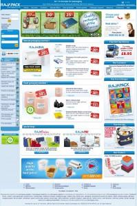 Rajapack Website