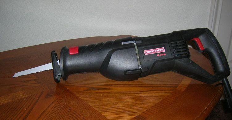Sawzall tool