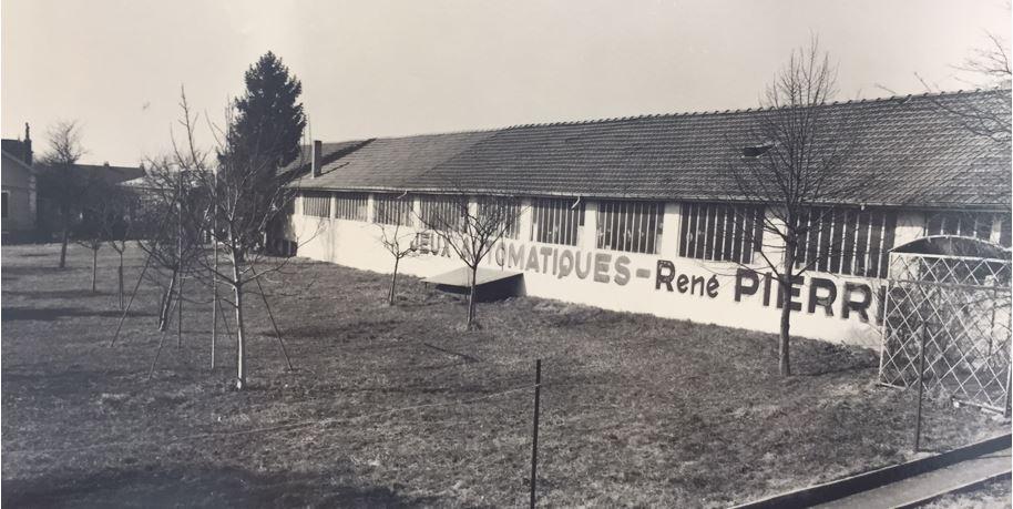 1953, the orginal René Pierre factory