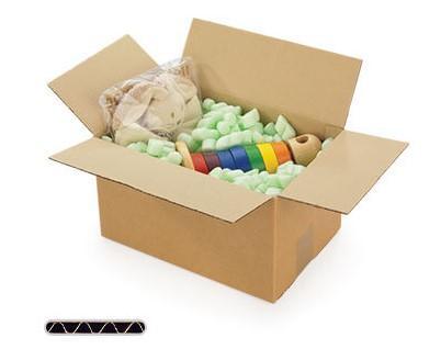 Single wall cardboard boxes
