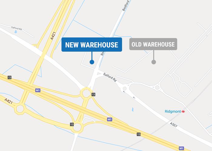 RAJA UK new warehouse and office - June 2020