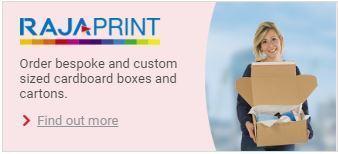 RAJAPRINT - RAJA Packaging bustom and bespoke boxes
