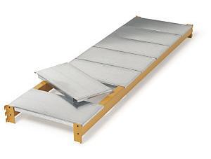 Steel shelves for longspan heavy duty warehouse shelving