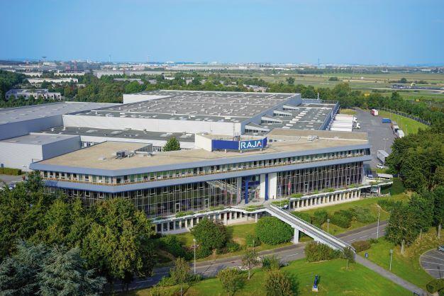 RAJA headquarters, France press release